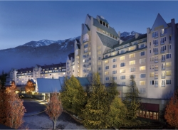 Fairmont Chateau Whistler at twilight // (c) 2009