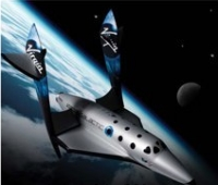 A rendering of Spaceship Two // (c) 2009