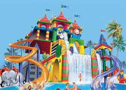A rendering of the new Legoland Water Park in California // (C) 2010 Legoland