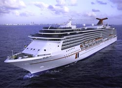 The Carnival Spirit will sail out of Los Angeles beginning in September 2011. // © 2010 Carnival Cruise Line