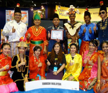 Malaysia Tourism at the Los Angelels Travel & Adventure Show // © 2012 Malaysia Tourism