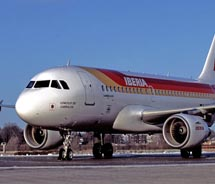 Iberia will resume service from LAX to Madrid next year. // © 2010 Iberia