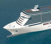NCL's new ships will also feature solo staterooms. // © 2010 Norwegian Cruise Line