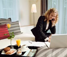 Business travel is making a comeback. // © 2011 istockphotos.com