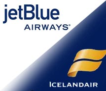 JetBlue Airways and Icelandair// © 2011