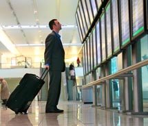 Executives will spend more on travel this year, survey says. // © 2011 Jeffrey Smith