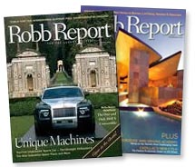 Robb Report and Frosch Travel Partner // © 2011 The Robb Report