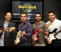 Hard Rock Hotels is headed to Mexico.  © 2011 Hard Rock Hotels