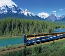 Rocky Mountaineer offers new online tools for agents.  // © 2012 Rocky Mountaineer