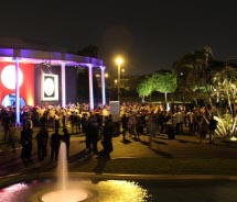The opening night of the IDE took place at The Magic Water Park. // © 2012 ASTA: 360