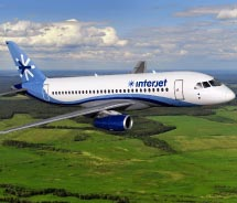 Interjet will offer daily flights to Mexico. // © 2012 SuperJet International