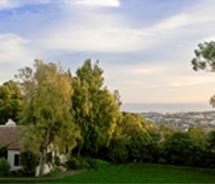 El Encanto has views of Santa Barbara and the Pacific Ocean. // © 2012 El Encanto