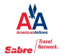 American Airlines and Sabre Logos // © 2012  American Airlines; Sabre Travel Network
