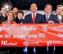 The Westfield Group and partners are investing $80 million on retail and dining at LAX's New Tom Bradley International Terminal. // © 2012 LAX: Joshua...