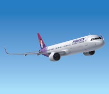 Hawaiian Airlines' new Airbus // © 2013 Hawaiian Airlines