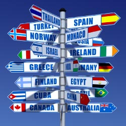 A new survey shows that 60 percent of agency sales are from international travel. // © 2013 Thinkstock