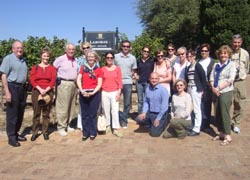 The Ensemble Travel Group visited Laborie in Paarl, South Africa.