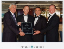 America's Vacation Center/Avoya Travel was honored as a top luxury travel specialist by Crystal Cruises // (c) 2010 Crystal Cruises/AVC