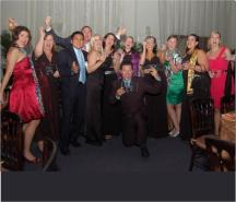 Agents celebrate their win at the GIVC Awards. // © 2010 GIVC