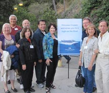 Fifty agents attended the event at the Hollywood Bowl.