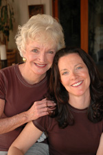 Sheila and Cathy Cluff c 2010 The Oaks at Ojai