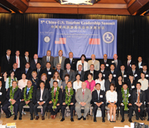 Members of USTA and CNTA at the 5th annual China-U.S. Tourism Leadership Summit // © 2011 Hawaii Tourism Authority