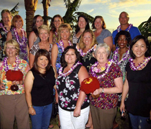 Outrigger specialists at the Old Lahaina Luau // © 2012 Outrigger Enterprises Group
