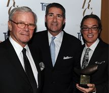 <p>Tom Brokaw, Ralph Grippo, president of Irvine Company Resort Properties, and Giuseppe Lama, managing director of Pelican Hill at the Conde Nast...