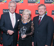 SAA recognized Lion World Tours at this year's Indaba. // © 2012 Lion World Tours