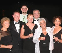 The SoCalASTA black-tie gala recognized lifetime contributors to the travel industry. // © 2010 socalasta