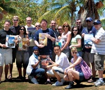 The Young Professionals Society, on retreat in Puerto Rico // © 2011 Jason Coleman