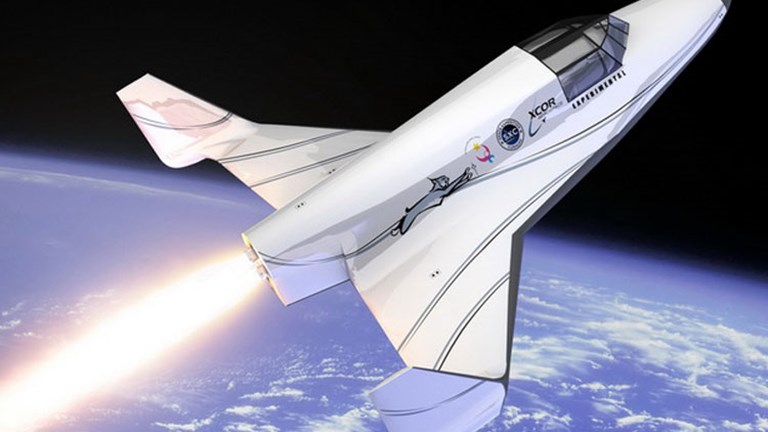Lynx, by XCOR Aerospace, anticipates launching its first manned flight by late 2013 or early 2014. // (C) 2013 XCOR Aerospace, Inc.