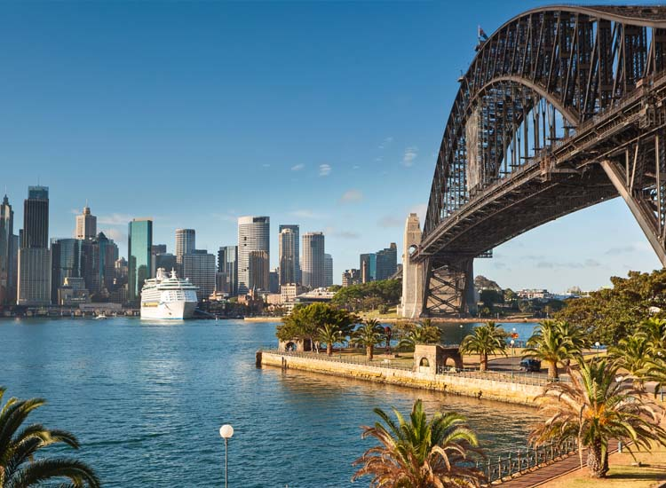 The three-and-a-half hour climb of the Sydney Harbour Bridge offers a thrilling, one-of-a-kind perspective. // (c) 2013 Thinkstock