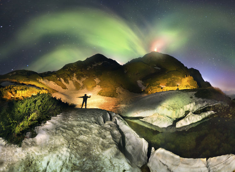 Appearing on many travel bucket lists is the Northern Lights, which can be viewed in several locations, including Norway. // (c) 2013 Thinkstock