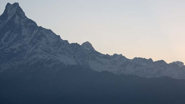 "Tadapani, as well as Ghandruk, offer great views of Machhapuchhre (also known as ""Fish Tail""). // © 2015 Mindy Poder"