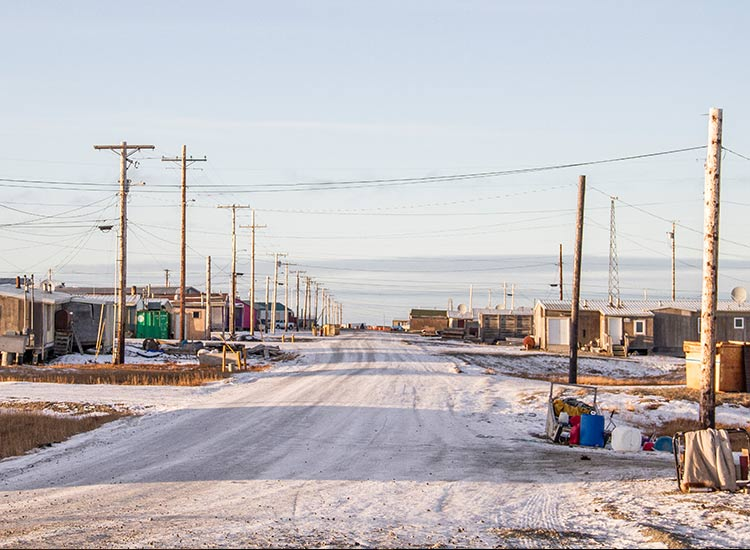 Remote Kaktovik is home to about 250 people, mostly of the Inupiat tribe. // © 2017 iStock