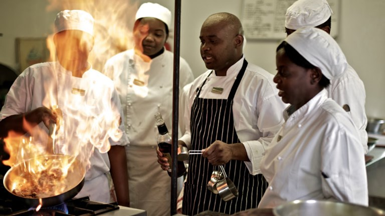 Singita School of Cooking is one way that the award-winning Singita brand empowers local communities. // © 2017 Singita