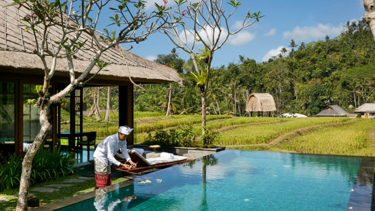 Mandapa, a Ritz-Carlton Reserve in Bali is one of the brand's three resorts so far. // © 2017 Mandapa, a Ritz-Carlton Reserve