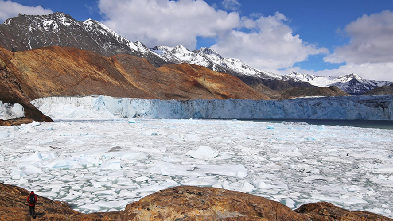 Viedma Glacier is the largest glacier in Argentina and can only be reached by boat. // © 2018 Mindy Poder