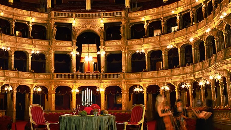 Enjoy a private concert at the Hungarian State Opera House when you stay at Four Seasons Gresham Palace Budapest.