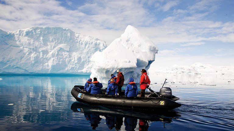 Antarctica is the world's driest and coldest desert.