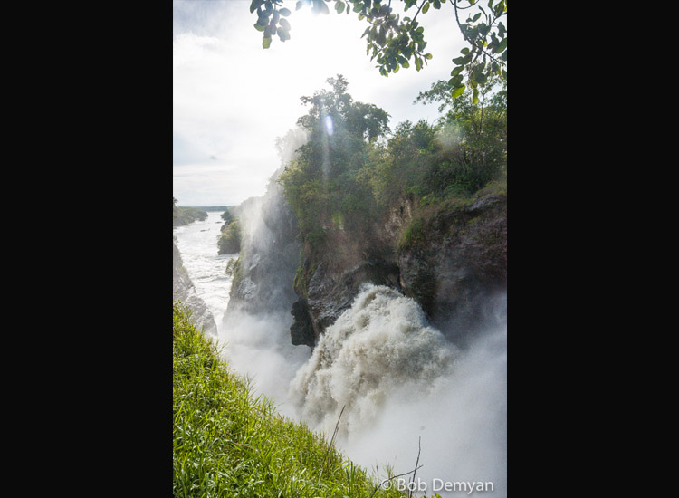 The top of Murchison Falls // (c) Bob Demyan