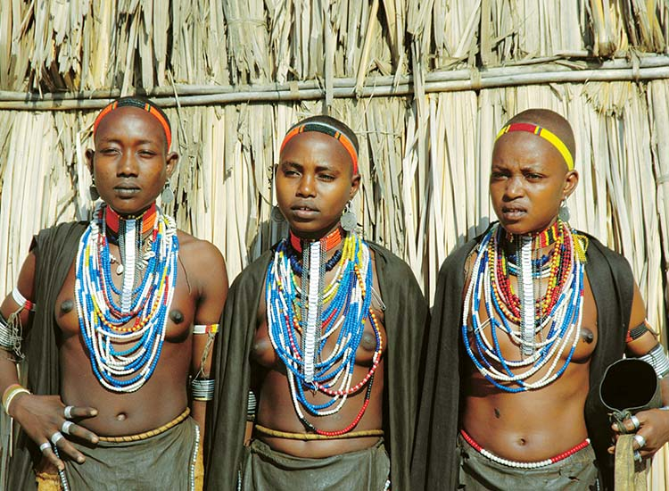 The Arbore tribe is a small tribe that lives in the southwest region of the Omo Valley. // © 2014 Cox & Kings