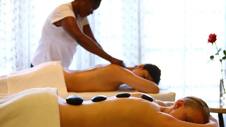 An on-site spa provides Asian and Scandinavian treatments, facials, and hand and foot care. // © 2016 Fairmont Mount Kenya Safari Club