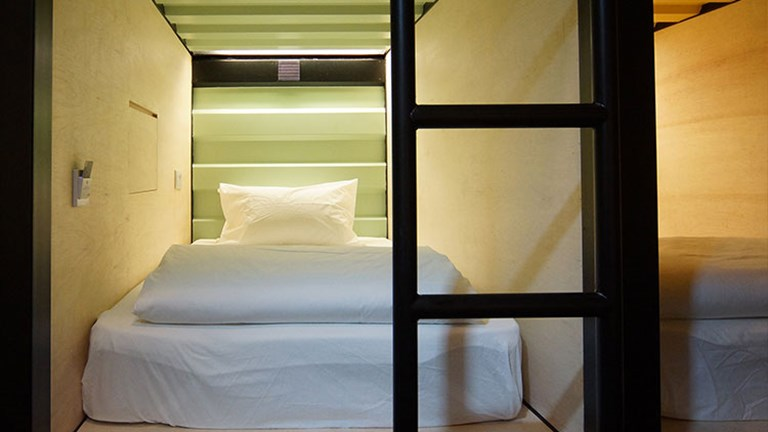 Container Hotel Ipoh is the first hotel in Malaysia that was built from renewable freight containers. // © 2016 Container Hotel Group