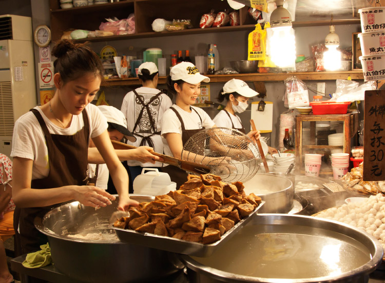 Taiwanese street food is a popular draw for incoming travelers to the destination. // © 2016 iStock