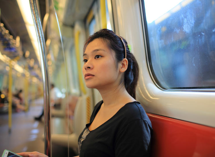 Clients can utilize Hong Kong's rail network for easy transportation. // © 2016 iStock