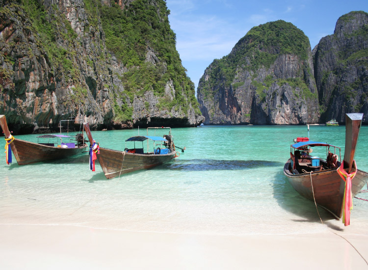 Phuket is a popular destination within Thailand. // © 2016 iStock