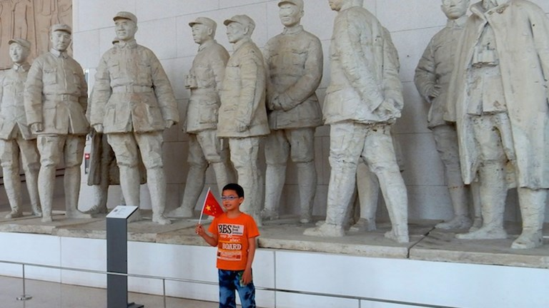 This collection of statues depicting Chinese generals is a particularly popular spot for taking photos. // © 2014 Shane Nelson