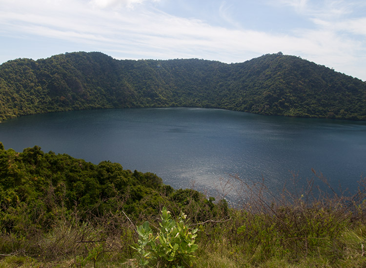 Satonda Island is inhabited by a colony of fruit bats, and is the site of a crater lake and caldera hike. // © 2017 Mindy Poder